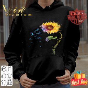 Sunflower Suicide Prevention Awareness shirt