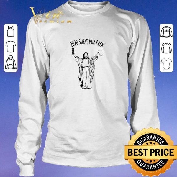 Top 2020 survivor pack Jesus hold Disinfectant and Toilet Paper shirt sweater