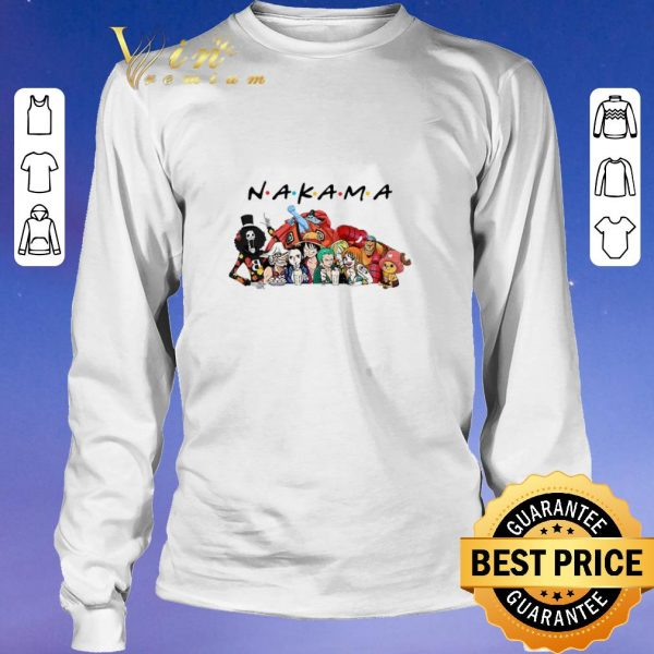 Top Anime Manga heroes Nakama Friends shirt sweater