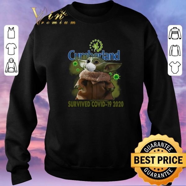Top Baby Yoda Cumberland Farms Survived Covid-19 2020 shirt sweater