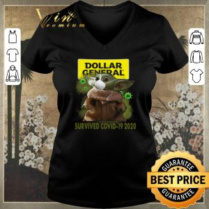 Top Baby Yoda Dollar General Survived Covid-19 2020 shirt sweater 1