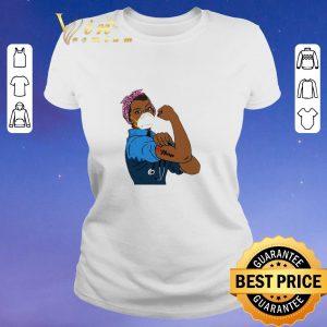 Top Black Strong Woman Mask Nurse Coronavirus shirt sweater 1