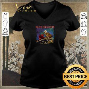 Top Iron Meowden cats mashup Iron Maiden shirt sweater 1