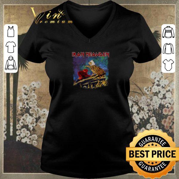 Top Iron Meowden cats mashup Iron Maiden shirt sweater