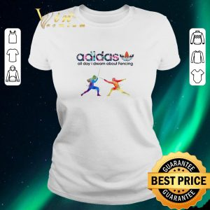 Top Logo Adidas All Day I Dream About Fencing shirt sweater 1