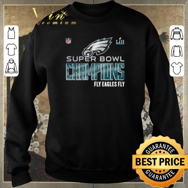 Top NFL Super Bowl LIII Champions Fly Eagles Fly Philadelphia Eagles shirt sweater