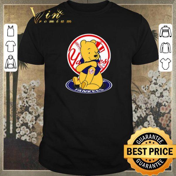 Top Pooh tattoos New York Yankees logo shirt sweater