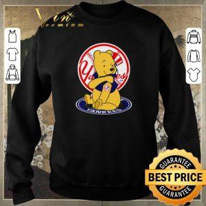 Top Pooh tattoos New York Yankees logo shirt sweater 2