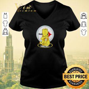 Top Pooh tattoos Pittsburgh Steelers logo shirt sweater 1
