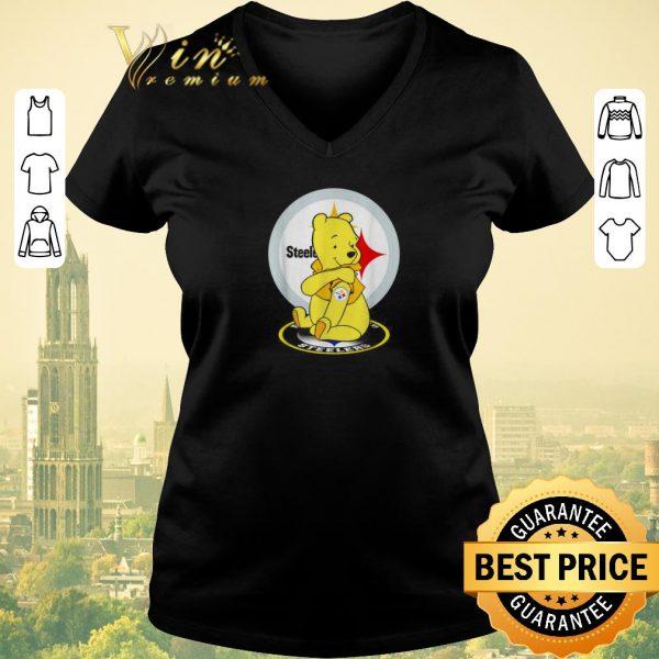 Top Pooh tattoos Pittsburgh Steelers logo shirt sweater