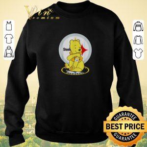 Top Pooh tattoos Pittsburgh Steelers logo shirt sweater 2