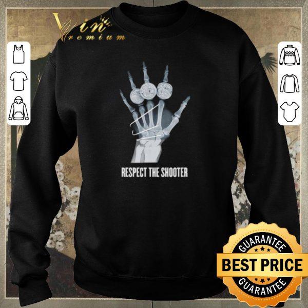 Top Warriors Stephen Curry broken hand xray respect the shooter shirt sweater