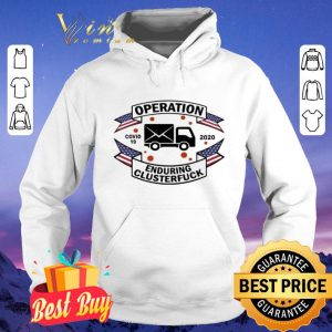 Postal Worker Operation Covid 19 2020 enduring clusterfuck shirt