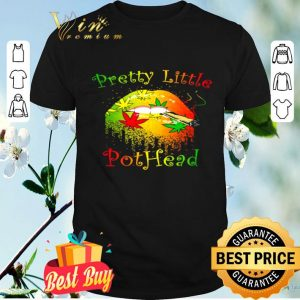 Cannabis lips pretty little pothead shirt