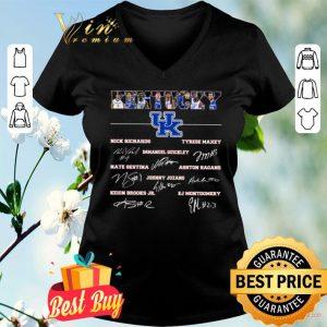 Kentucky Football Nick Richards Tyrese Maxey Immanuel Quickley Signature shirt