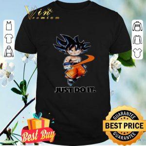 Nike Dragon Ball Super Goku Just Do It shirt