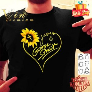 Sunflower Jesus George Strait shirt