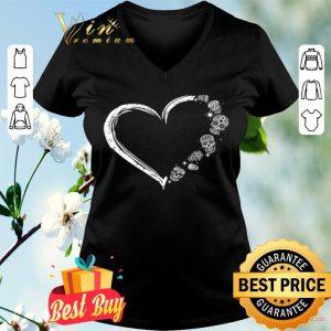 Heart Skulls Tattoo shirt