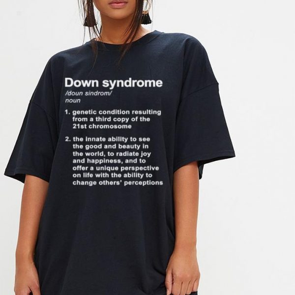 Down Syndrome Definition shirt