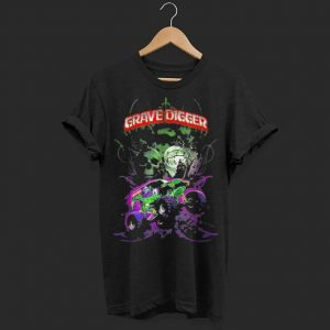Grave Green Digger Monster Truck shirt