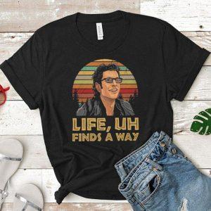 Jeff Goldblum Life Uh finds a way sunset shirt