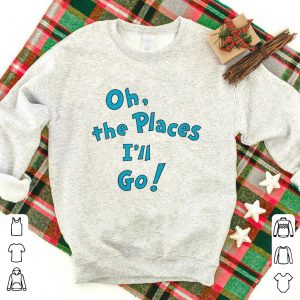 Kids Dr. Seuss Oh, The Places I'll Go shirt