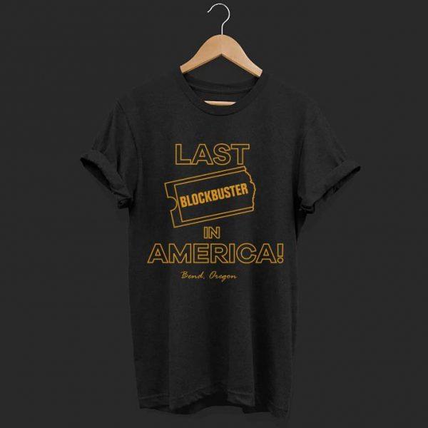 Last Blockbuster In America Bend Oregon shirt
