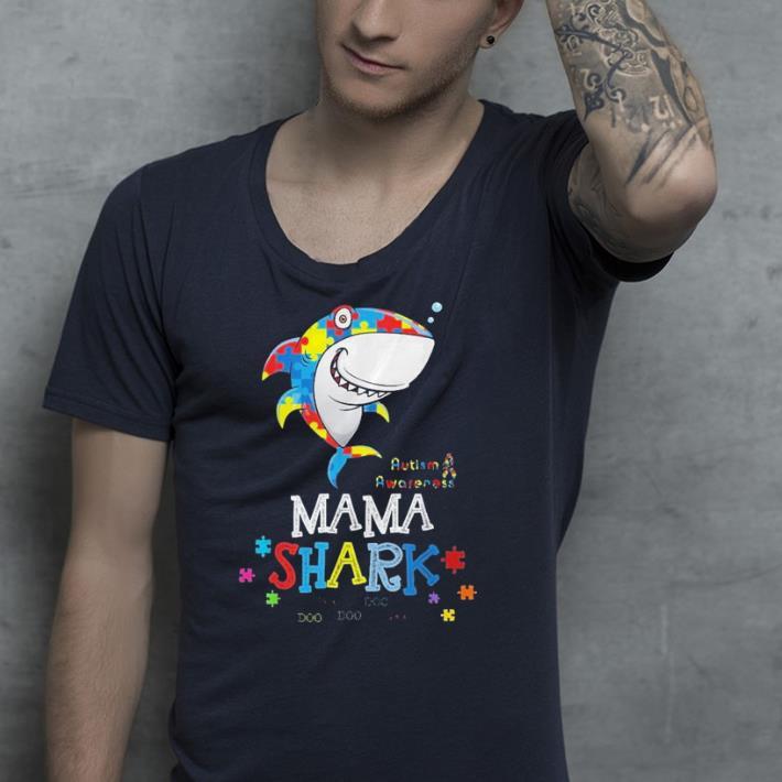 Mama Shark Autism Awareness Family Matching shirt 4 - Mama Shark Autism Awareness Family Matching shirt