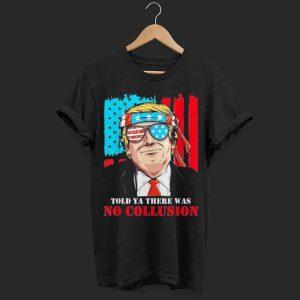 No Collusion! Trump 2020 shirt