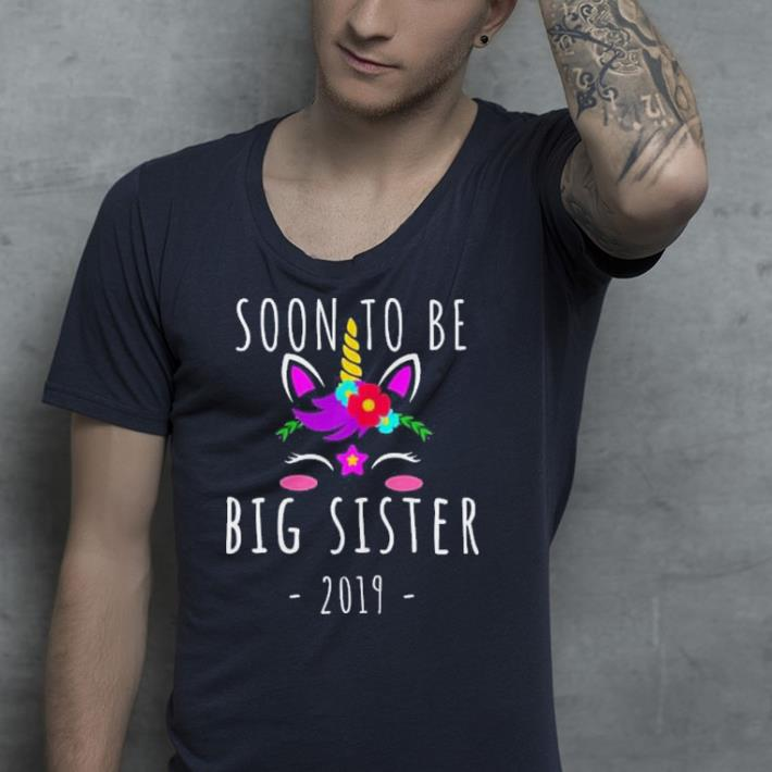 Soon I m Going To Be A Big Sister 2019 Unicorn shirt 4 - Soon I'm Going To Be A Big Sister 2019 Unicorn shirt