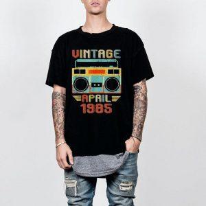 Vintage April 1985 shirt