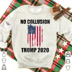 Vintage No Collusion Trump 2020 shirt