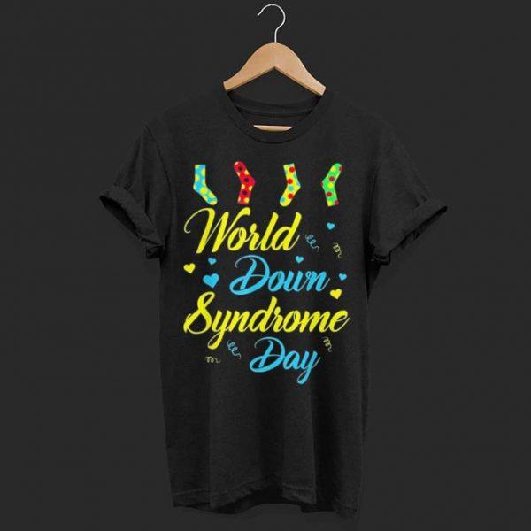 World Down Syndrome Day Awareness Socks shirt