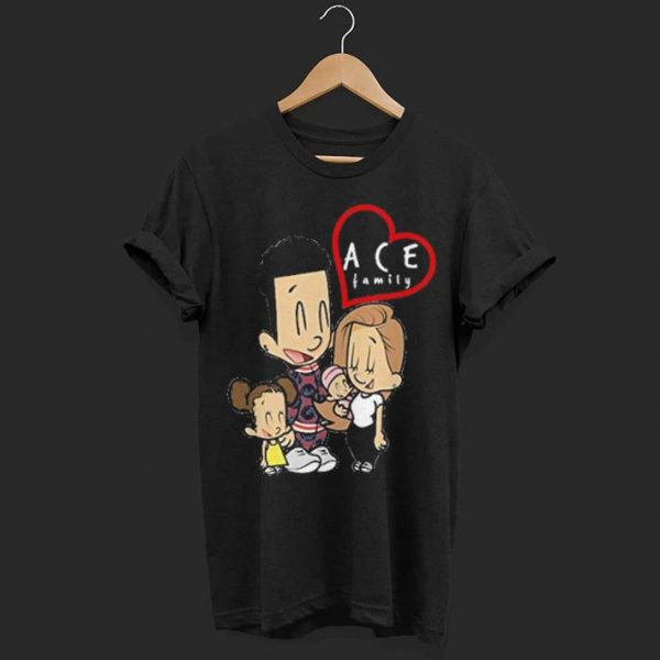 ace cartoon family shirt