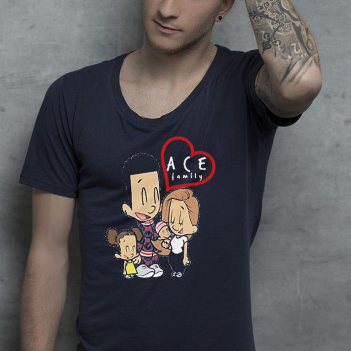 ace cartoon family shirt 4 - ace cartoon family shirt