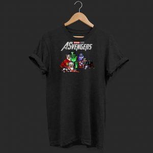 Australian Shepherd Asvengers Marvel Avengers Endgame shirt