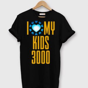 Dad i love my kids 3000 shirt