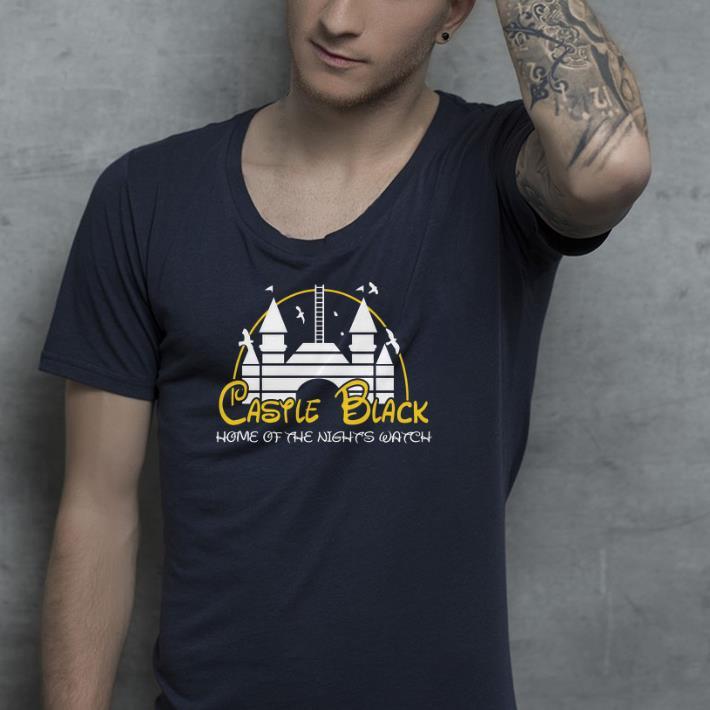 Disney castle black home shirt 4 - Disney castle black home shirt