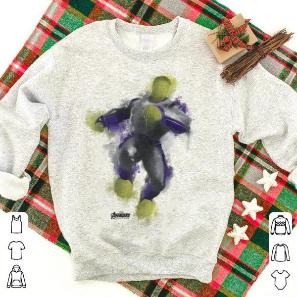 Marvel Avengers Endgame Hulk Spray Paint Pose shirt