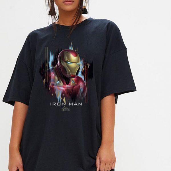 Marvel Avengers Endgame Iron Man Splatter shirt
