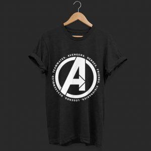 Marvel Avengers Endgame Logo Heroes and Legends shirt
