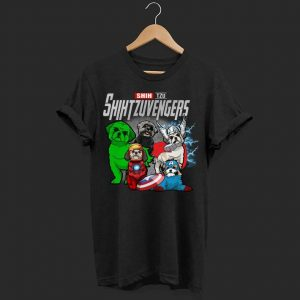 Marvel evenger Shi Tzu shirt