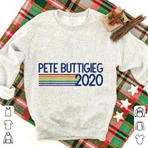 Mayor Pete Buttigieg 2020 Retro Pride Rainbow shirt
