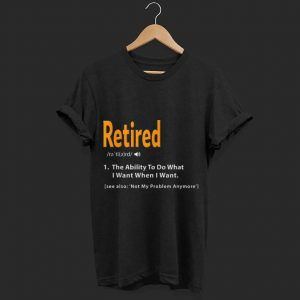 Retired Definition shirt
