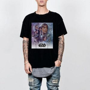 Star Wars Celebration Mural A New Hope Movie shirt