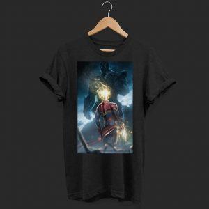 Thanos vs Captain marvel shirt
