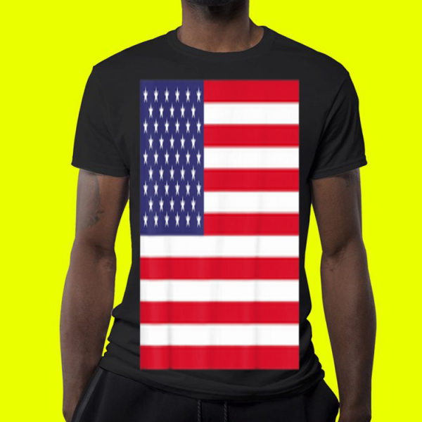 American Flag Patriotic shirt