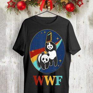 Panda bears wwf shirt