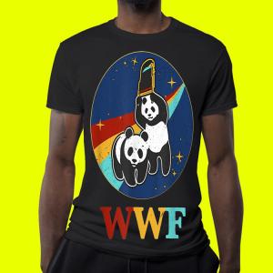 Panda bears wwf shirt 3