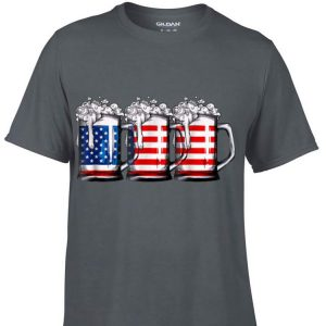 Beer American Flag shirt